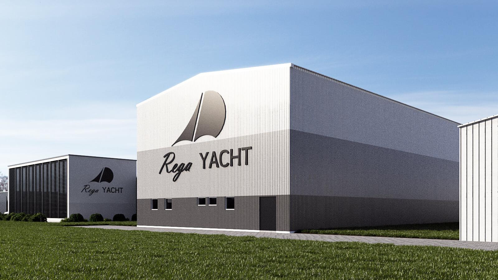Archikom - Rega Yacht - wizualizacja