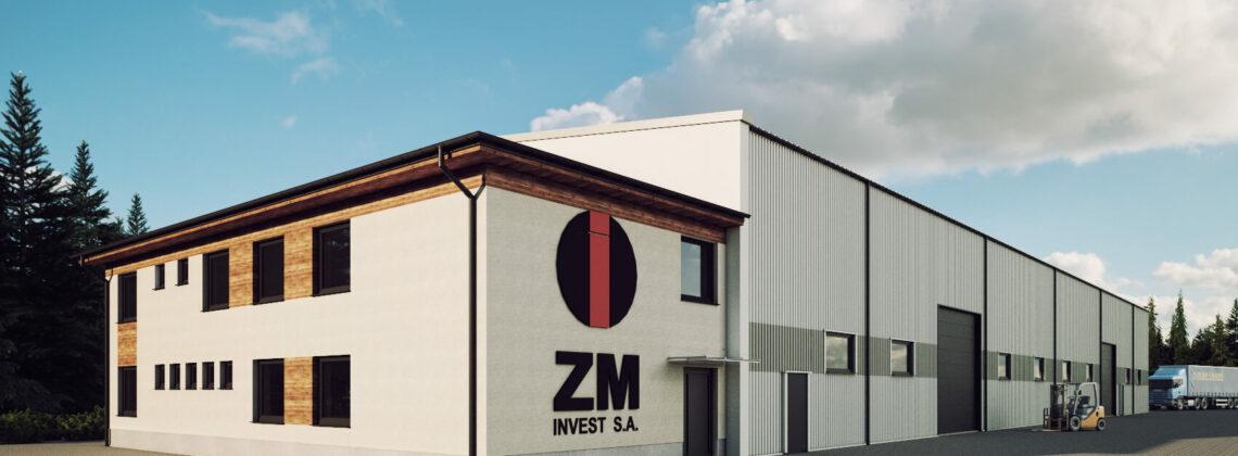 Wizualizacja - ZM Ropczyce Invest